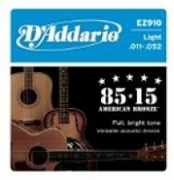 [D'Addario Guitare Acoustique EZ920 Medium Light Set/Jeu]