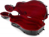 Etui Violoncelle Gewa Idea Futura Noir/Rouge