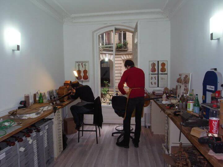 L'atelier de Lutherie d'Aliénor à Paris